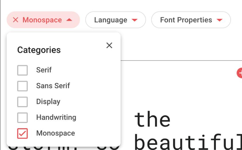 Google Fontsを使って統一されたフォントを表示。